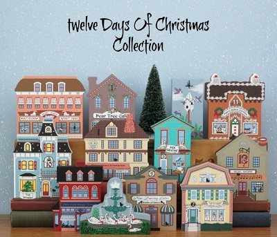 Twelve 12 Days of Christmas Shelf Sitter Collection
